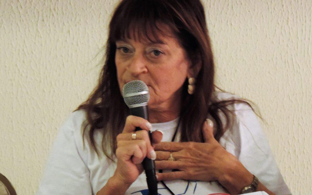 Sinpro Lagos lamenta o falecimento da professora Lygia Carreteiro